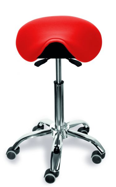 Sattelsitzstuhl Sitz Hocker vor- und rückneigbar, höhenverstellbar